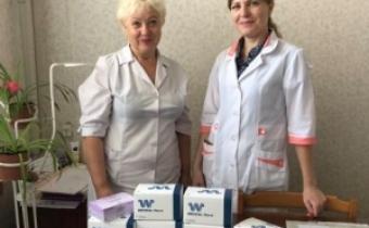 Петрівська ЦРЛ отримала тести для діагностики ВІЛ