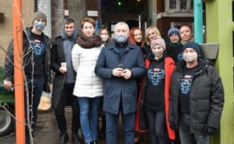 Мотиваційна кава: У Кропивницькому пригощали кавою і розповідали про туберкульоз