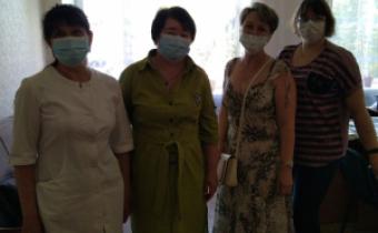 Соціальна працівниця і лікар-інфекціоніст консультували в Олександрівці