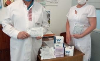 Тести для діагностики ВІЛ-інфекції передали у Бобринецьку ЦРЛ