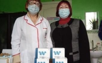 У Світловодські медичні заклади передано тести для діагностики ВІЛ