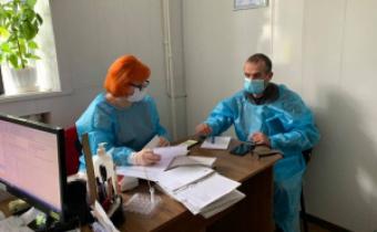 Допомогли клієнтам з ВІЛ у м. Долинськ
